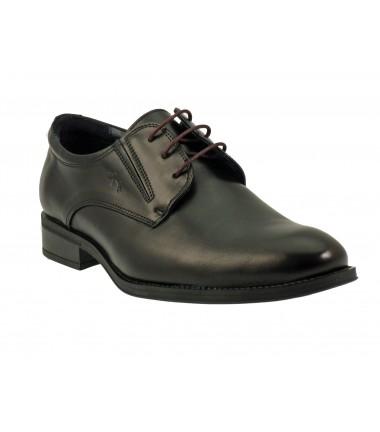 Chaussures lacets FLUCHOS-8410-noir