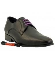 Chaussures lacets Fluchos-8960-noir