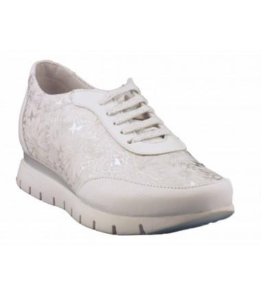 Tennis basse Chacal-4270-Blanc
