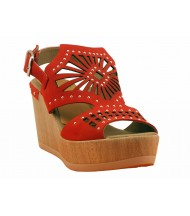 Sandales Dorking-D7487-NB-Kiss-Rouge