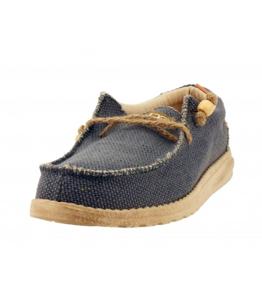 Chaussures lacets Wally Dude Braided-Navy