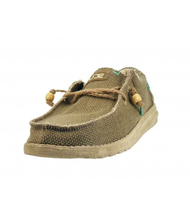 Chaussures lacets Wally Dude Braided-Sage