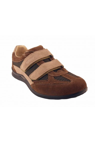 Chaussures scratch Grisport-8407-Taupe
