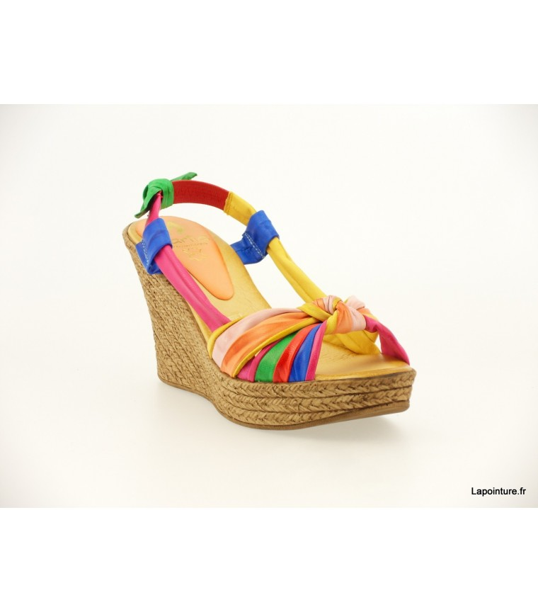 9c0635aaf372d1 sandale Marila multicolor - 8011multi - chaussures femme - lapointure.fr