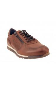 Chaussures lacets- zip-Fluchos-Sander F0928-Camel